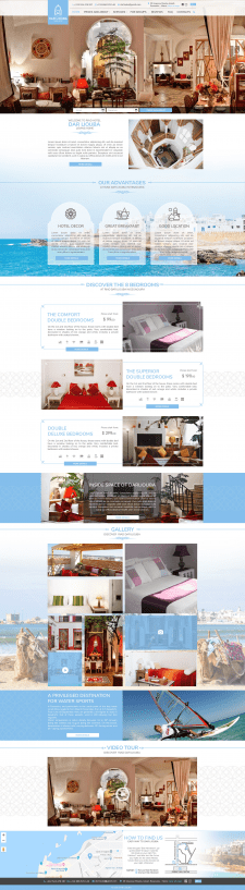 Дизайн сайта DARLIOUBA