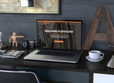Orange Textile Store Landing Page