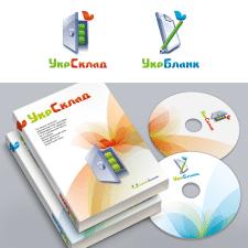 Логотипи + фірмовий стиль для програмного продукту