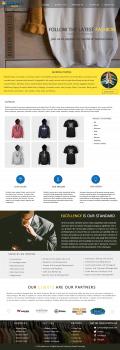Дизайн сайта для Glodesh Textile