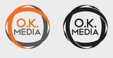 Логотип медиа продакшена - O.K.Media
