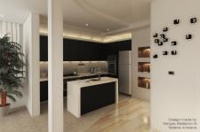 Квартира 129.2 м.кв. (кухня №1)