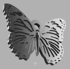 бабочка (освежитель воздуха в авто)