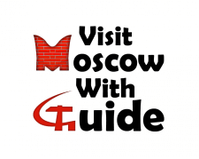 """Wisit Moscow With Guid"" Логотип"