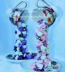 Парящая цветочная чашка