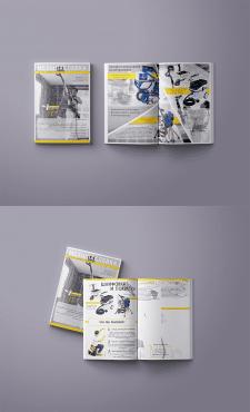 Рекламный буклет для строительной фирмы