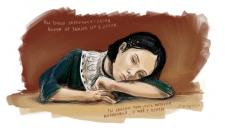 POLNALYUBVI Иллюстрация девушки ( corel painter )