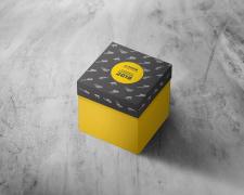 Дизайн сувенирной упаковки маршмеллоу