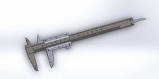 Модель штангельциркуля