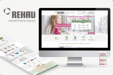 Landing Page под ключ для REHAU