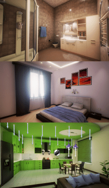 Unreal engine apartaments