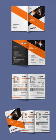 Дизайн каталога сварочные материалы