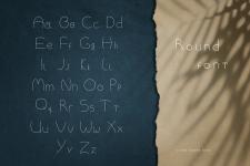 Кругообразный шрифт