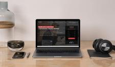Дизайн сайта для крипто брокера