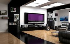 room1 (программа: 3D Max)