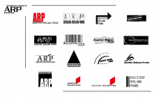 Разработка логотипа для реламного агенства