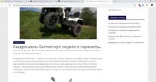 Квадроциклы Балтмоторс