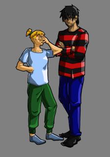 Персонажи комикса