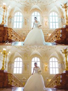 ретушь свадебных фото