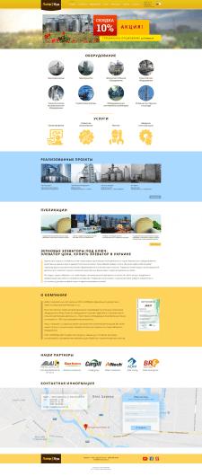 Дизайн сайта компании Лайф Буд