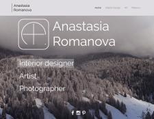 Личный сайт художника