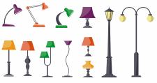 Иконки ламп - цветные