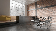 Loft Interior Room Visualization