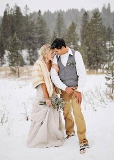 Зимняя свадьба: создаем настоящую сказку