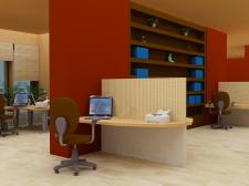 Офисное помещение в Африканском стиле
