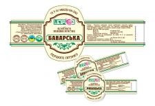 Этикетка на колбасу для Переясловского ЕКХП