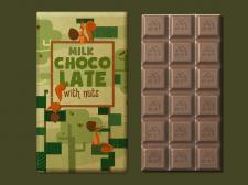 Дизайн упаковки с использованием иллюстрации