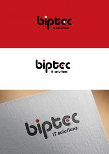 логотип для IT компанії biptec