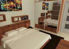 Спальня. Вид1