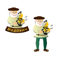 Логотип-эмблема, персонаж