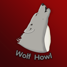 Логотип Wolf Howl