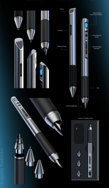 Digital pen design
