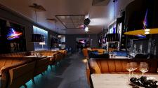 Дизайн-проект VIP зала кафе