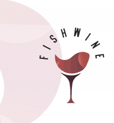 Дизайн Логотипа ресторана FishWine
