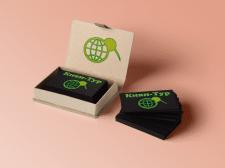 Логотип и визитки для туристической компании