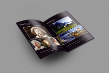 Буклет-портфолио для фотографа