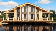 Визуализация домов из сруба