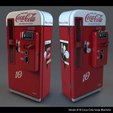 Vendo 81B Coca-Cola Soda Machine