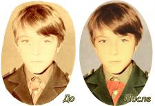 Реставрация фото и оцветнение