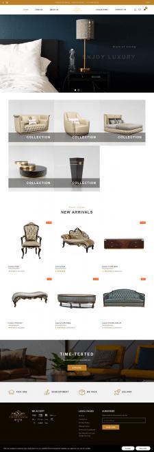 Интернет магазин мебельного салона на Shopify