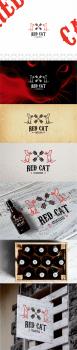 Логотип для крафтовой пивоварни Red Cat