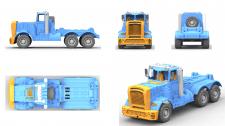 Модель детали грузовика