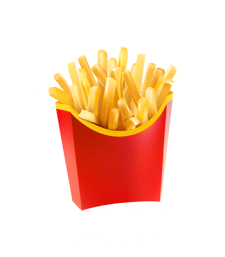 Иконка картофель фри для сайта