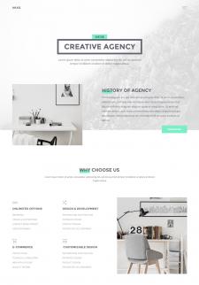 Akad — сайт дизайн-агенства
