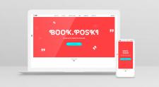 Верстка онлайн магазина по продаже книг