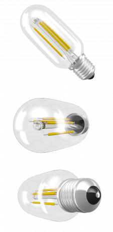 Современная светодиодная лампа накаливания